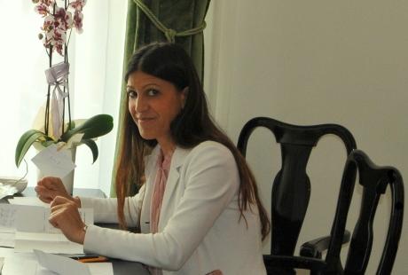 Michela Abis direttrice dello Chalet al Lago