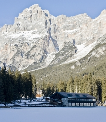 Panoramica delle Dolomiti